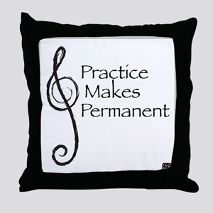 Music - Throw Pillow